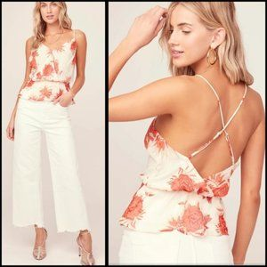 ASTR The Label Strappy Floral Cami
